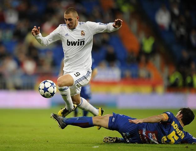 Karim Benzema strzelił trzy gole w meczu z Levante /AFP