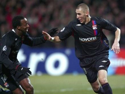 Karim Benzema (z prawej) /AFP