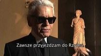 Karl Lagerfeld: Atmosferę Rzymu wyrażam w moich kolekcjach