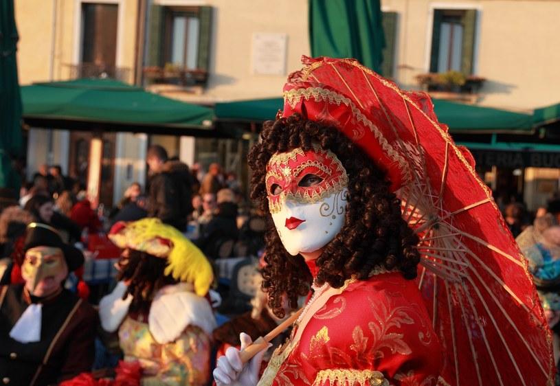 Karnawał Carnevale di Venezia, Wenecja. /©123RF/PICSEL