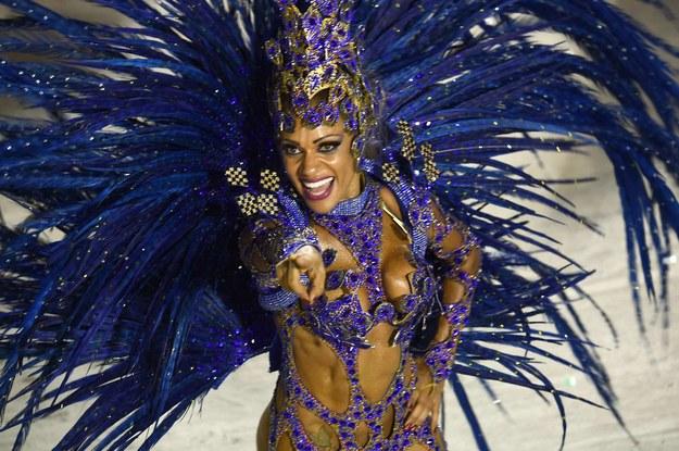 Karnawał w Rio - największa impreza świata /AFP