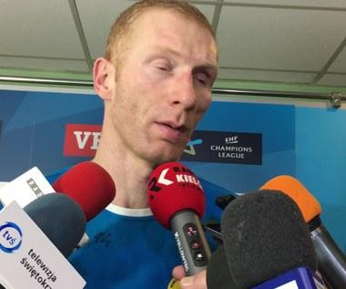 Karol Bielecki o meczu z Mieszkowem Brześć. Wideo