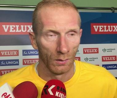 Karol Bielecki po meczu z Telekomem Veszprem (32-32). Wideo