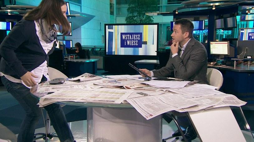 Karolina Elbanowska (z lewej) i Jarosław Kuźniar /TVN24/x-news /TVN24/x-news