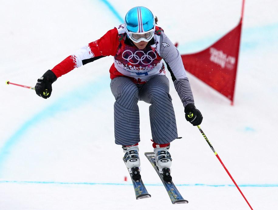 Karolina Riemen-Żerebecka na trasie skicrossu /Grzegorz Momot /PAP