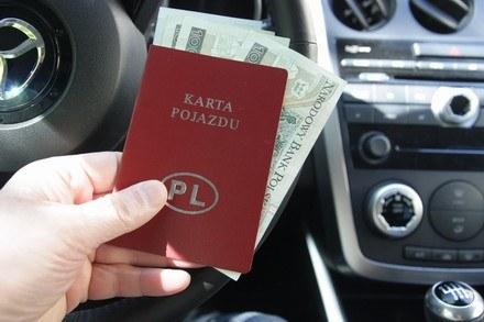 Karta pojazdu /