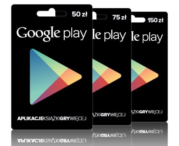 Karty Google Play w Polsce /materiały prasowe