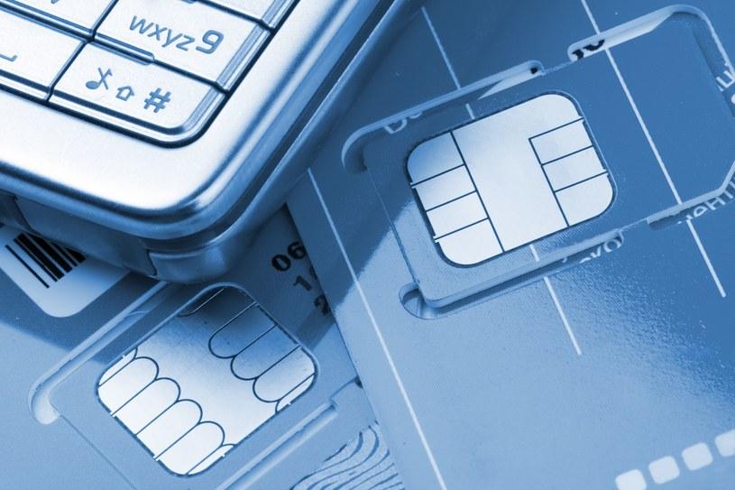Karty SIM; zdj. ilustracyjne /©123RF/PICSEL