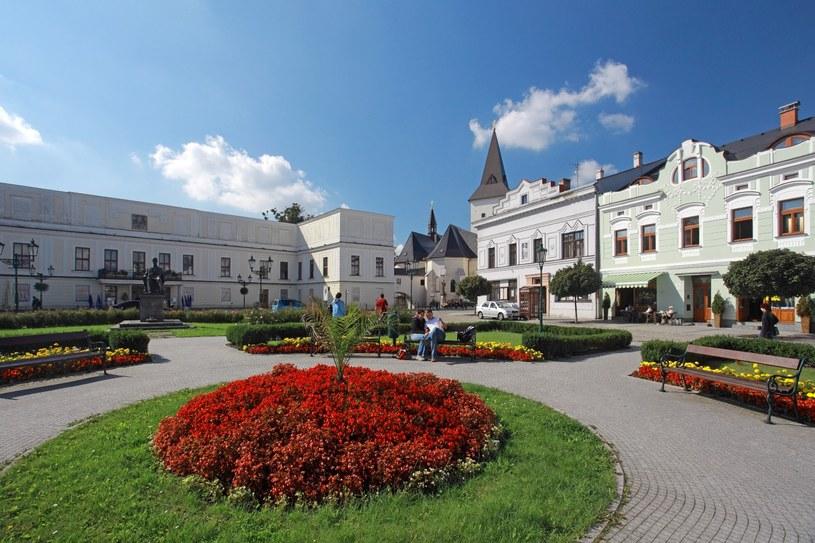 Karwina, zamek, kościół, domy. Fot. Štefan Špic /materiały prasowe