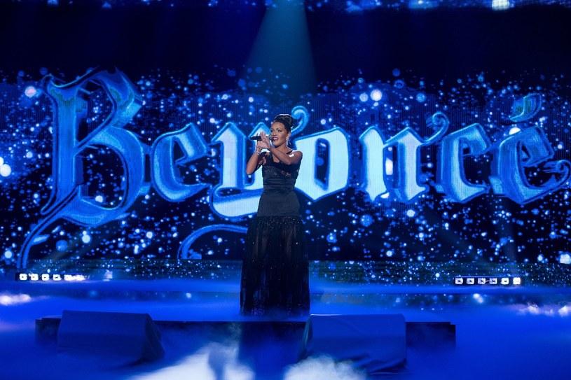 Kasia Popowska jako Beyonce /M.Zawada /Polsat