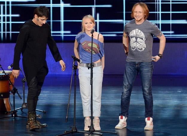 "Kasia Sochacka ze swoimi muzykami w ""Must Be The Music"" - fot. GM /Polsat"