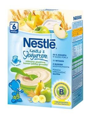 Kaszka z jogurtem bananowo-jabłkowo-gruszkowa /INTERIA.PL/materiały prasowe