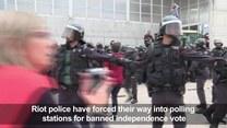 Katalończycy walczą o niepodległość