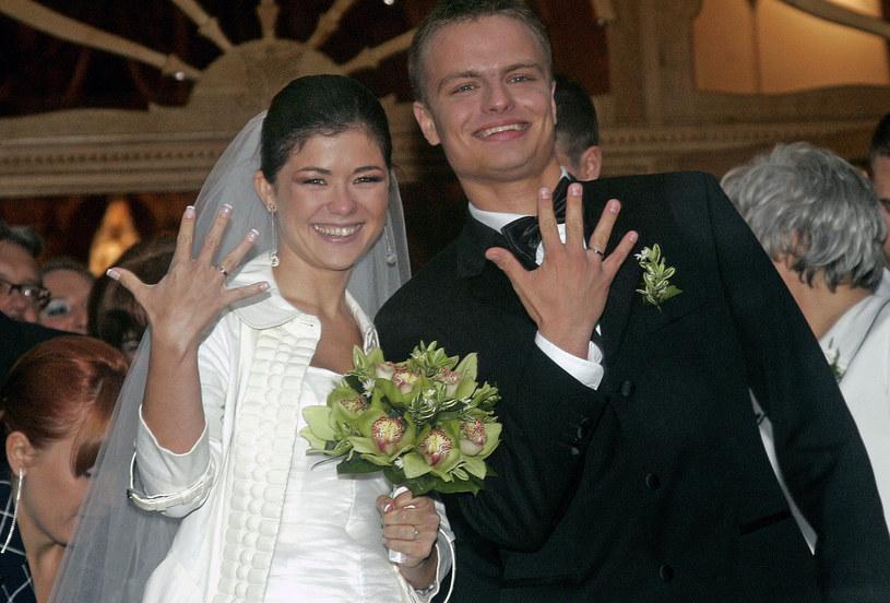 Katarzyna Cichopek i Marcin Hakiel wzięli ślub w 2008 roku /Engelbrecht /AKPA