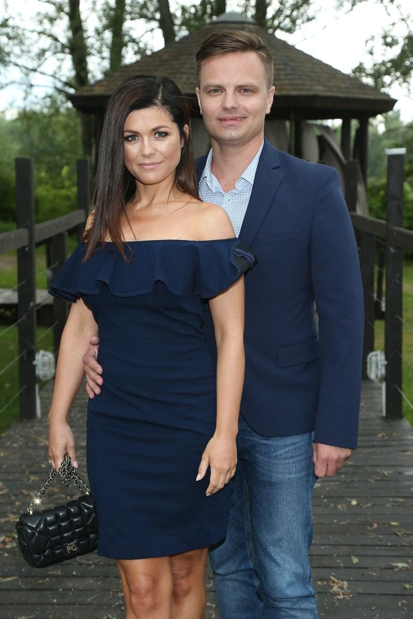 Katarzyna Cichopek i Marcin Hakiel /VIPHOTO /East News