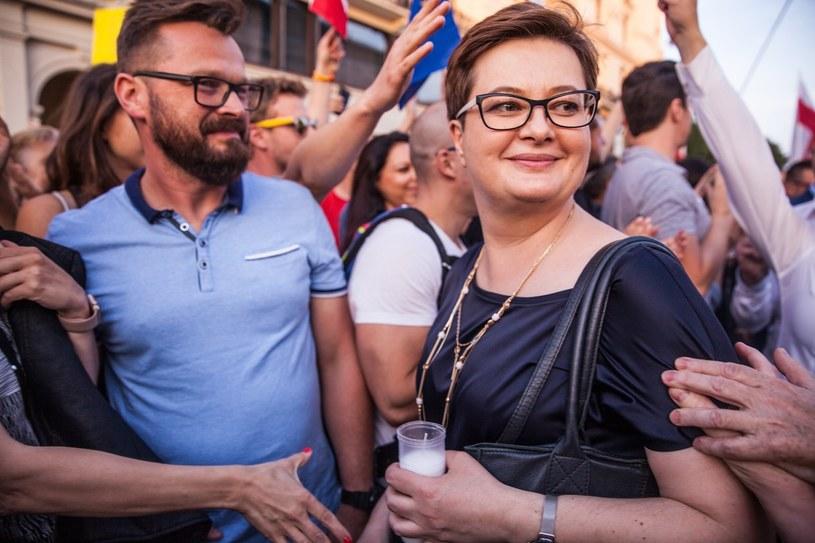 Katarzyna Lubnauer /Aleksandra Szmigiel /Reporter