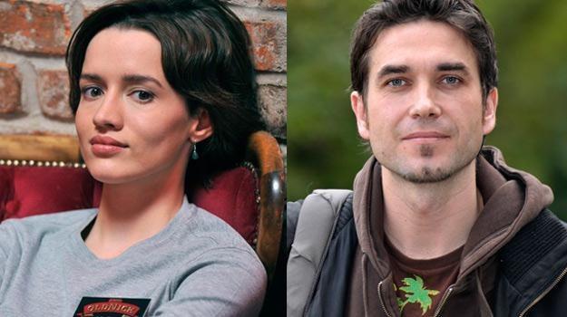 Katarzyna Maciąg i Marcin Dorociński wystapią razem w serialu /AKPA