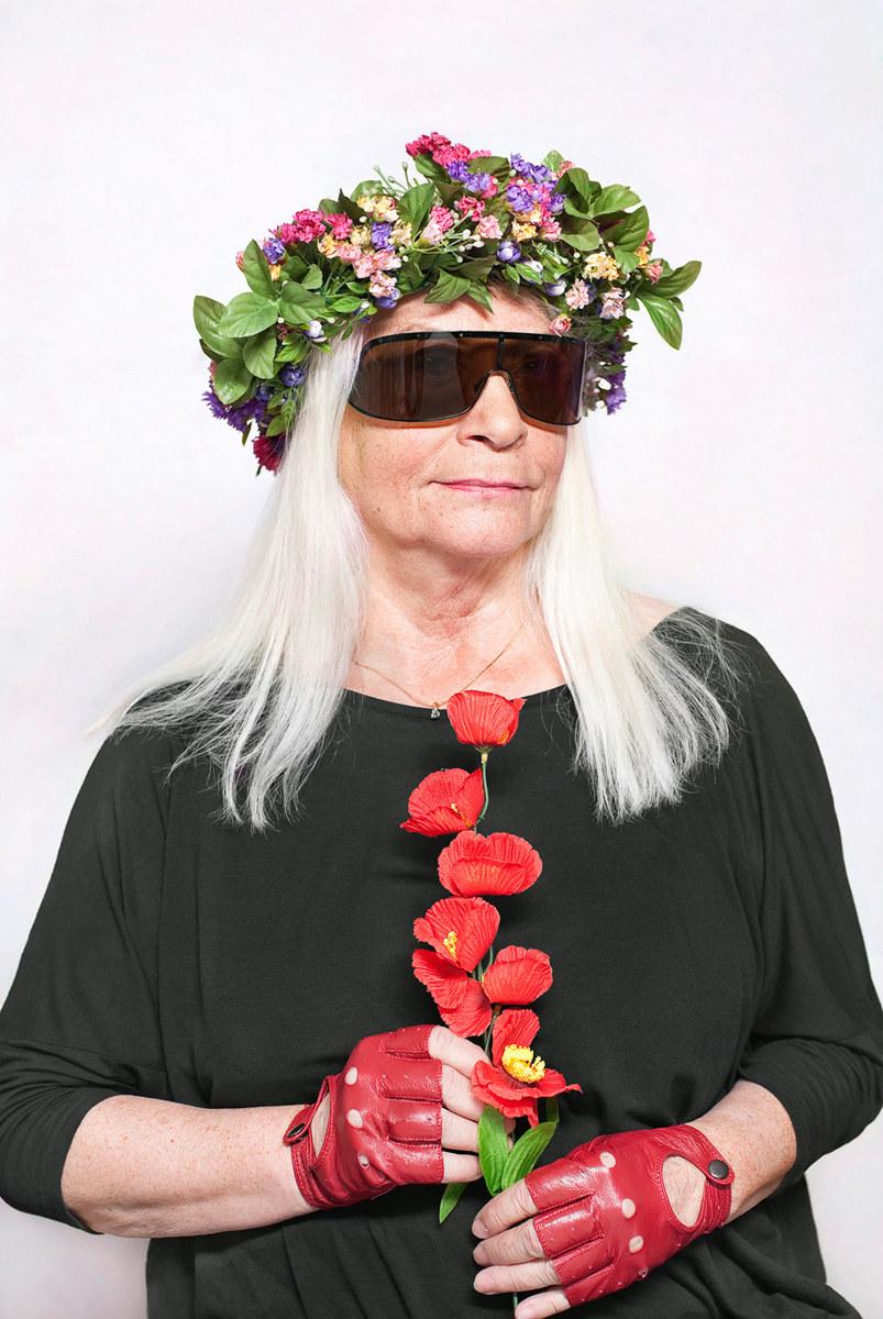 """Katarzyna Majak """"Natalia LL - artystka"""", z cyklu Kobiety Mocy; dzięki uprzejmości artystki i galerii Porter Contemporary NY /materiały prasowe"""