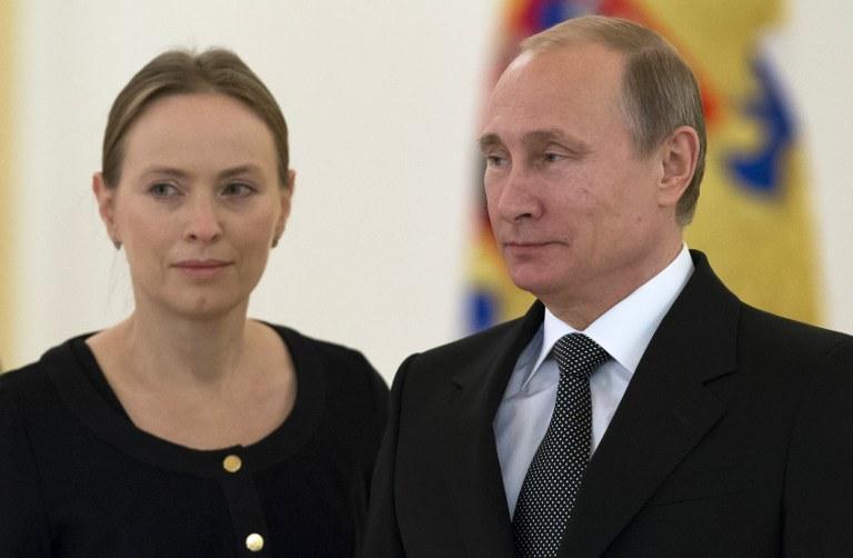 Katarzyna Pełczyńska-Nałęcz i Władmir Putin /AFP