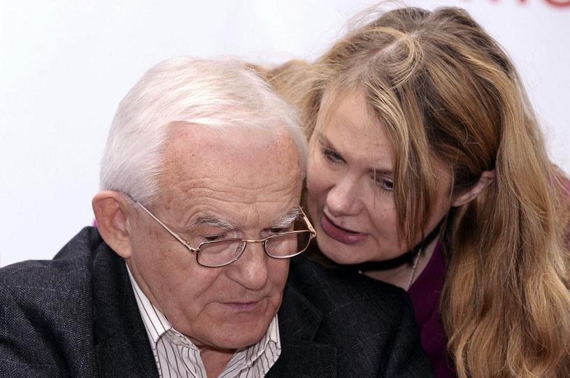 Katarzyna Piekarska i Leszek Miller /Jacek Bielecki /East News