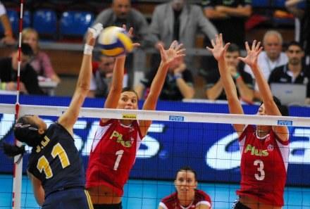 Katarzyna Skowrońska i Eleonora Dziękiewicz (z prawej), fot: Piotr Sumara /Agencja Przegląd Sportowy
