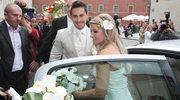 Katarzyna Skrzynecka bierze ślub kościelny