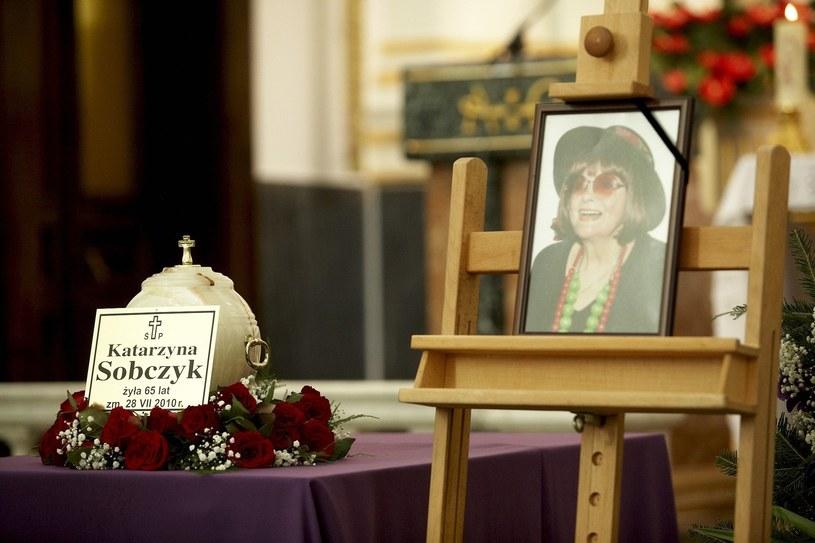 Katarzyna Sobczyk zmarła 28 lipca 2010 roku! /Labudzki  /Reporter