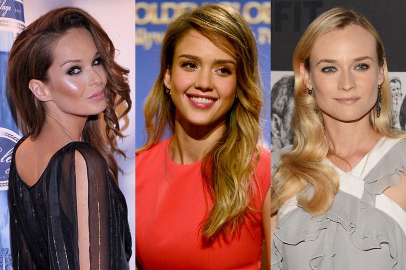 Katarzyna Sowińska, Jessica Alba, Diane Kruger /Getty Images/Flash Press Media