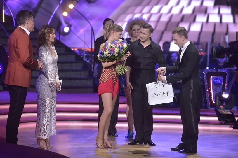 Katarzyna Stankiewicz i Tomasz Barański żegnają się z programem /AKPA
