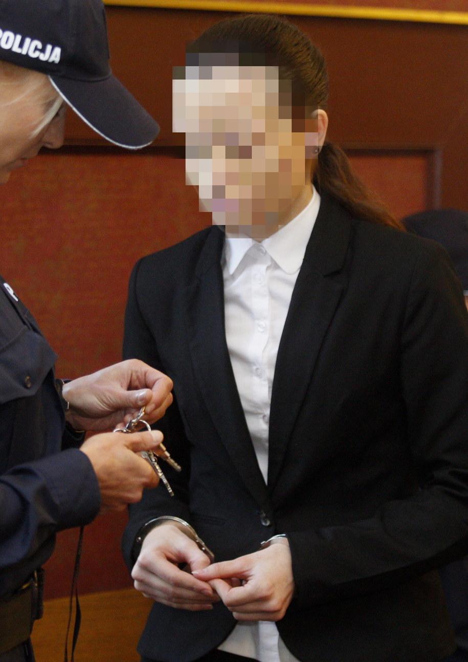 Katarzyna W. podczas swojej rozprawy odwoławczej /Andrzej  Grygiel /PAP
