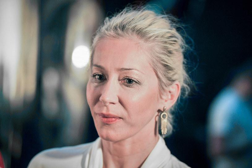 Katarzyna Warnke jest związana z aktorem Piotrem Stramowskim. Para od 2016 roku jest małżeństwem /East News
