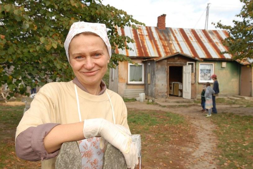 """Katarzyna Żak jako Kazimiera Solejuk w serialu """"Ranczo"""" /East News"""