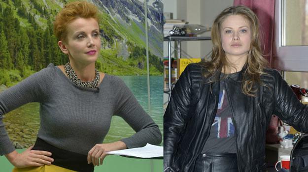 """Katarzyna Zielińska i Anna Karczmarczyk na planie """"To nie koniec świata!"""". /AKPA"""