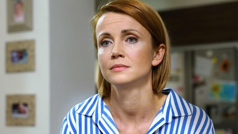 """Katarzyna Zielińska w """"Barwach szczęścia"""" /www.barwyszczescia.tvp.pl/"""