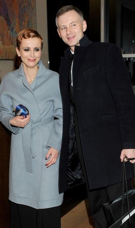 Katarzyna Zielińska z mężem Wojciechem Domańskim /Agencja W. Impact