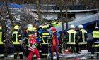 Katastrofa kolejowa w Niemczech. W Bawarii zderzyły się dwa pociągi