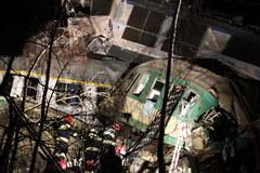 Katastrofa kolejowa w Śląskiem - zobacz zdjęcia
