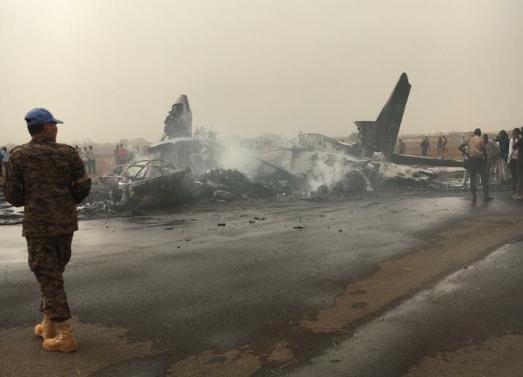 Katastrofa lotnicza w Sudanie /Twitter
