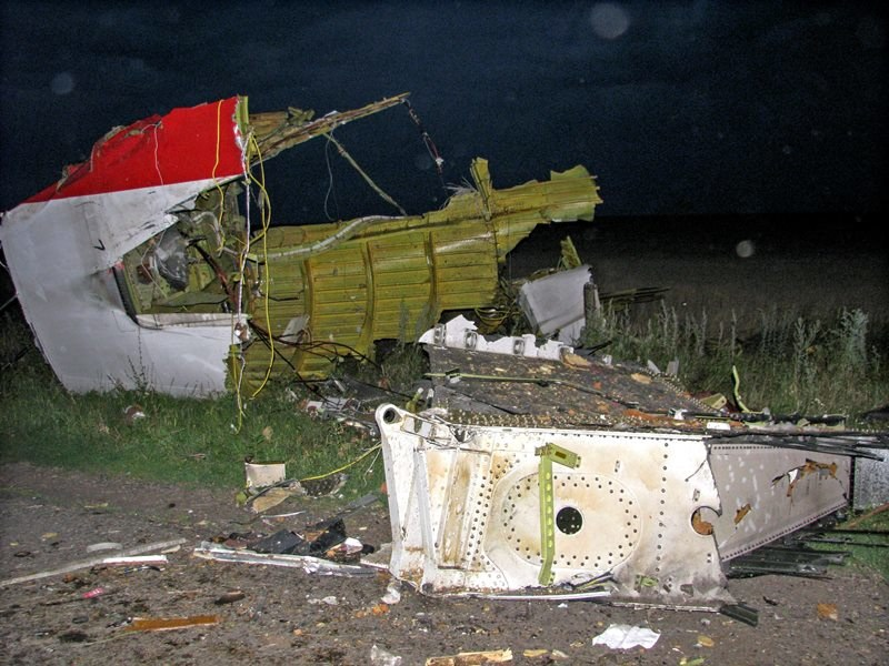 Katastrofa malezyjskiego samolotu na Ukrainie /PHOTOMIG /PAP/EPA