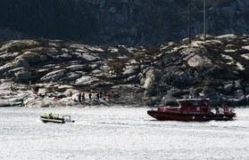 Katastrofa śmigłowca w Norwegii