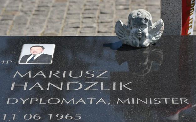 Katastrofa smoleńska: Grób Mariusza Handzlika zostanie otwarty jeszcze w tym roku?