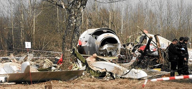 Katastrofa TU-154M /Filip Klimaszewski /