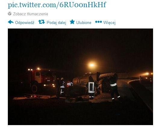 Katastrofa w Rosji /https://twitter.com/Photozov/status/402111020313112576/photo/1 /Twitter