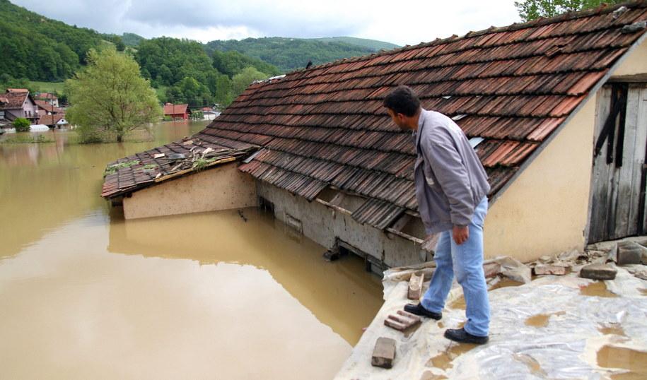 Katastrofala powódź w Serbii /DRAGAN KARADAREVIC /PAP/EPA