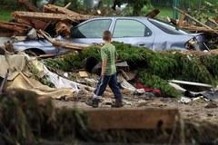 Katastrofalne skutki powodzi w Bogatyni