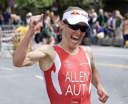 Kate Allen tym razem nie dotarła szczęśliwie do mety /AFP