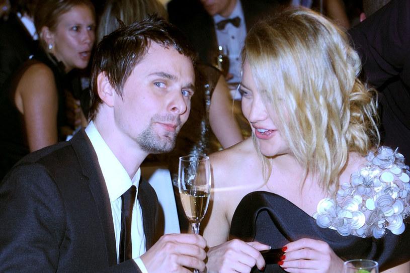 Kate Hudson z Matthew Bellamy  /Getty Images/Flash Press Media