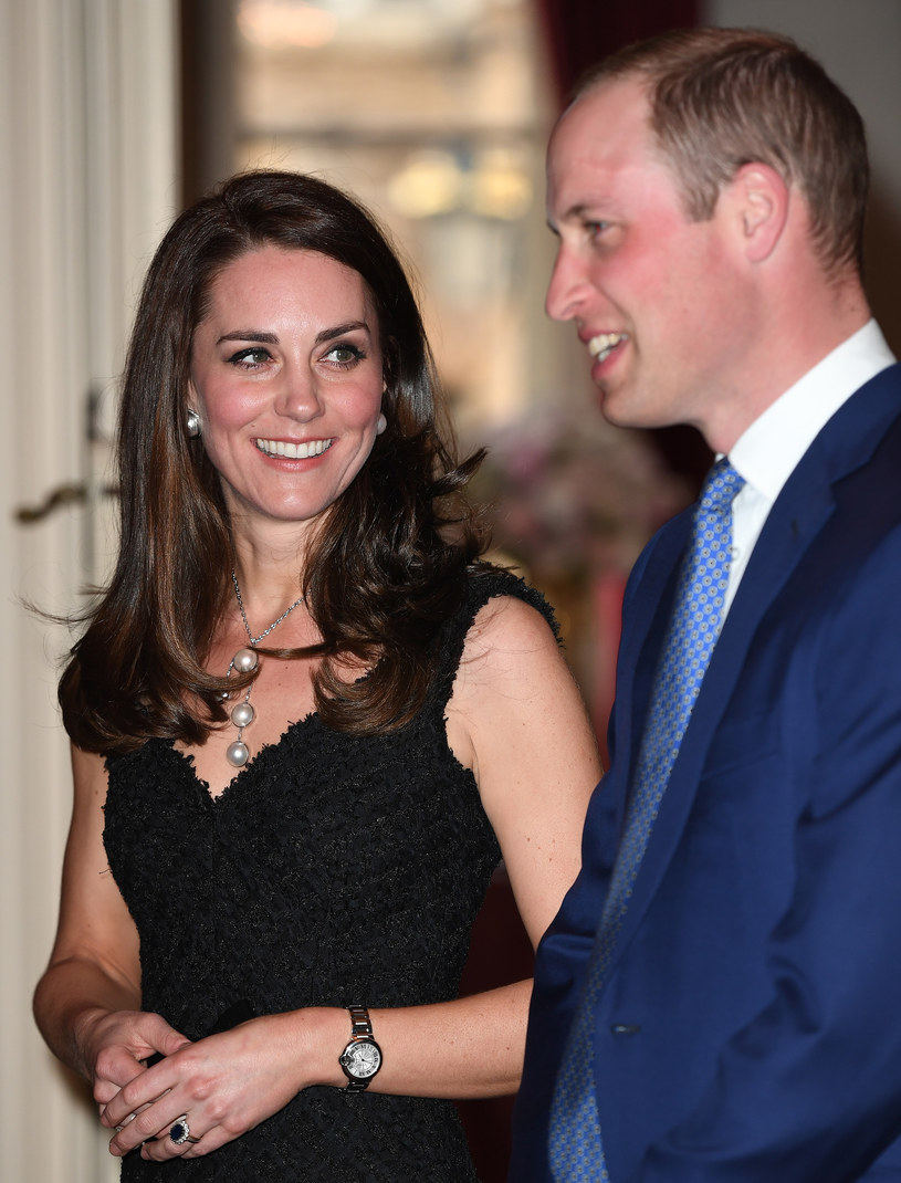 Kate i William, 17 marca /James Whatling / MEGA /Agencja FORUM