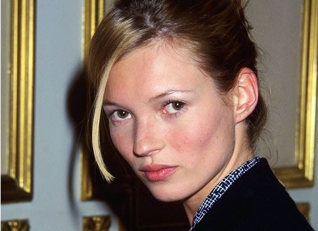 Kate Moss w 1999 roku /Getty Images/Flash Press Media