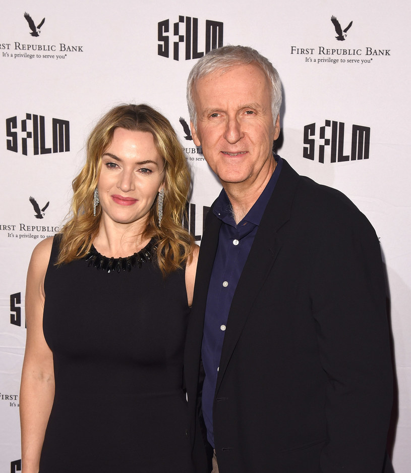 Kate Winslet i James Cameron /Getty Images